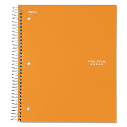 Mead Trend Notebooks, Perforated, 3-Subject, 150/Sht, Assorted