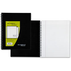 Mead Two Subject Business Notebook, 11x8 1/2, Legal Rule/Action Planner®, 96 Sheets