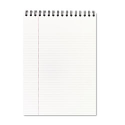 Mead Two Subject Business Notebook, Top Bound, 8 1/2x11, Legal Rule, 96 Sheets