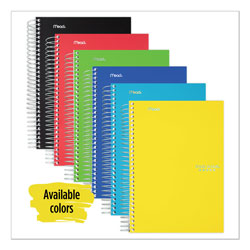 Mead Wirebound 2 Subject 2 Pocket Notebook, College Ruled, 9 1/2x6, 100 Sheets