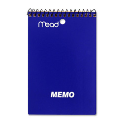 "Mead Memo Books 4"" x 6"", 40 Sheets"