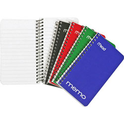 "Mead Memo Books 5"" x 3"", 60 Sheets"