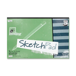 "Mead Academie Sketch Pads 18"" x 12"", 50 Sheets"