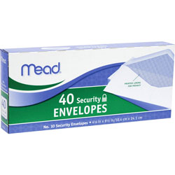 Mead White Wove Envelops Small Packs