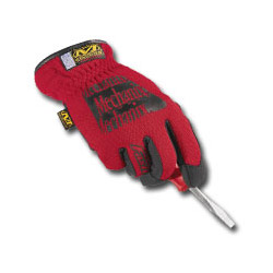 Mechanix Wear Red Fast Fit Gloves Large