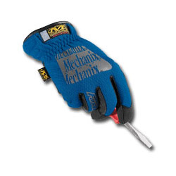 Mechanix Wear Blue Fast Fit Gloves Medium