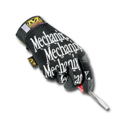 Mechanix Wear Original Glove Black/x Small