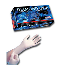 Micro Flex MF300S Diamond Grip Gloves, Small