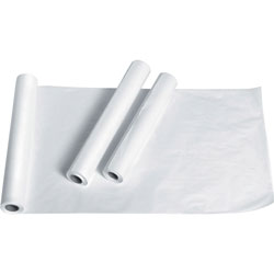 "Medline Exam Table Paper, Crepe Finish, 21""x125', White"