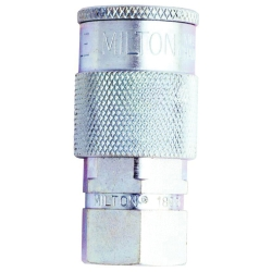 "Milton 1/4"" NPT Female H-Style Coupler"