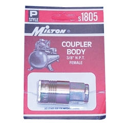 "Milton 3/8"" NPT Female P-Style Coupler"