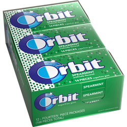 Marjack Wrigley Orbit Chewing Gum, Spearmint
