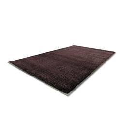 Millennium Mat Company Indoor Silver Series Walk Off Mat, Charcoal, 4' x 6