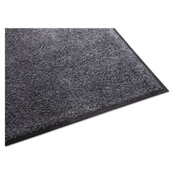 Millennium Mat Company Indoor Platinum Series Walk Off Mat, Gray, 4' x 6
