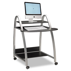 Mayline Eastwinds Arch Computer Cart, 31-1/2w x 34-1/2d x 37h, Anthracite
