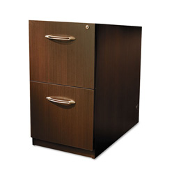 Mayline Aberdeen Ped For Credenza, 15-1/4W X20D X 27-1/2H, Chocolate