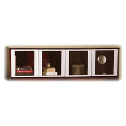 Mayline Corsica Series Hutch Doors, Glass, 17w x 25-1/2h, Clear, 2/Set