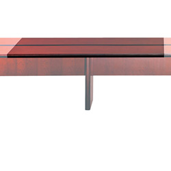 Mayline Corsica Adder Conference Table Top, 72w x 54d, Sierra Cherry