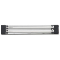 Mayline Aberdeen Under Hutch Tasklight, 25 x 4 x 1, 13 Watt, Black