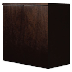 Mayline Mira Series Wood Veneer Wardrobe Unit, 34 3/4w x 24d x 38h, Espresso