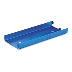 MMF Industries Heavy Duty Aluminum Tray for Rolled Coins, Holds $20 in Nickels, Blue
