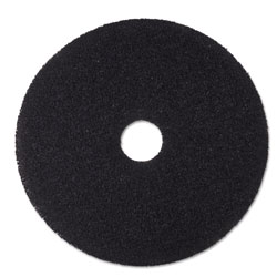 "3M Stripper Floor Pad 7200, 19"", Black, 5/Carton"