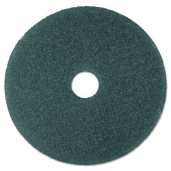 "3M Cleaner Floor Pad 5300, 19"" Diameter, Blue, 5/Carton"