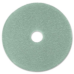 "3M Burnish Floor Pad 3100, 19"", Aqua, 5/Carton"