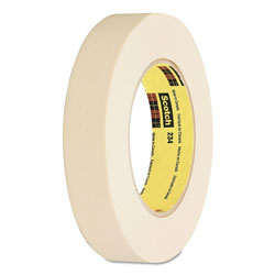 "Scotch General Purpose Masking Tape 234, 12mm x 55m, 3"" Core, Tan"