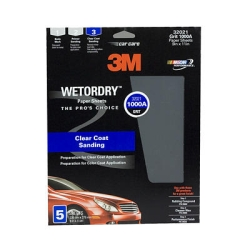 "3M Imperial Wetordry 9"" x 11"" Sheet - 5 Sheets per Pack"