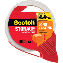 "Scotch 3650SRD Packaging Tape, 1-7/8"" x 38.2 Yds, Clear"