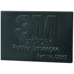 "3M Rubber Squeegee, 2"" x 3"""