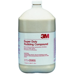 3M Super Duty Rubbing Compound, 1 Gallon