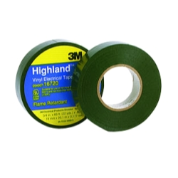 "3M Highland Vinyl Plastic Electrical Tape, 3/4"" x 66'"