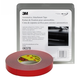 "3M Automotive Attachment Tape, Gray, 7/8"" x 20 yds."