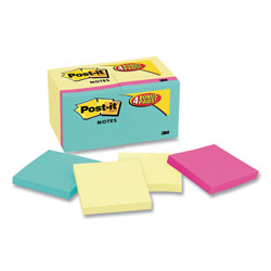 "Post-it® Assorted Notes, 3"" x 3"""