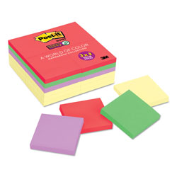 Post-it® Original Canary Yellow Office Note Pads, 3 x 3, 24 90 Sheet Pads/Pack