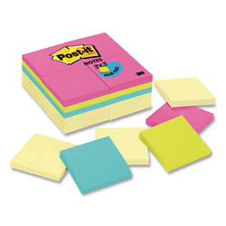 Post-it® 3 x 3 Note Pad Refills, Assorted Colors, 24/Pack