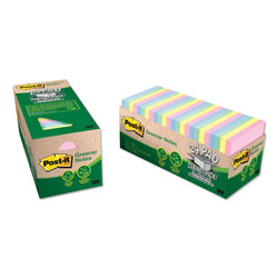 Post-it® Cabinet Pack Assorted Pastel Notes