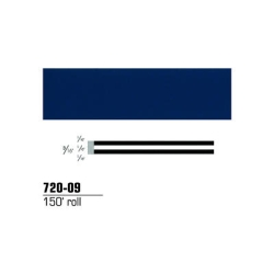 "3M Striping Tape, Dark Blue 3/16"" x 150'"