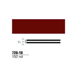 "3M Striping Tape, Burgundy, 3/16"" x 150'"
