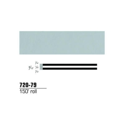 "3M Striping Tape, Pale Gray, 3/16"" x 150'"