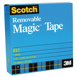 Scotch Removable Matte Write-On Tape