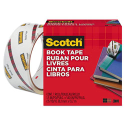 "Scotch Book Repair Tape, 1 1/2"" x 15yds, 3"" Core"