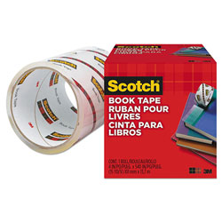 "Scotch Book Repair Tape, 4"" x 15yds, 3"" Core"