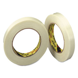"Scotch Filament Tape, .94"" x 60yds, 3"" Core"