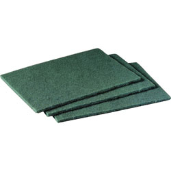 "Scotch Green Scrubbing Pads, 6""x9"""