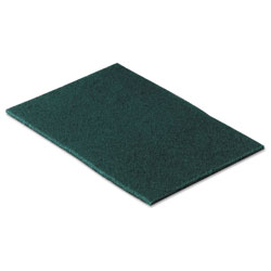 Scotch Commercial Scouring Pad, 6 x 9, 10/Pack