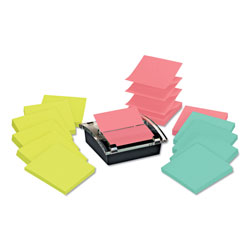 Post-it® Super Sticky Pop-up Dispenser Value Pack, 3 x 3, Assorted