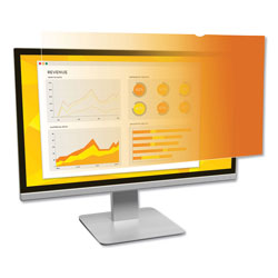 "3M Frameless Gold LCD Privacy Filter for 19"" Widescreen Monitor"
